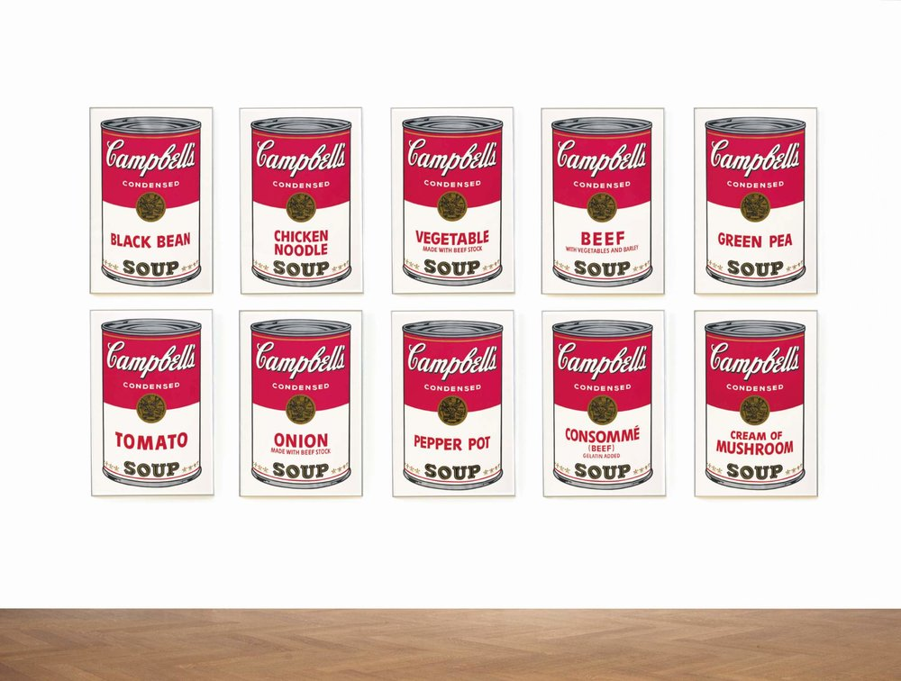 Andy Warhol, Campbell's Soup, 1968, est. £300,000-400,000