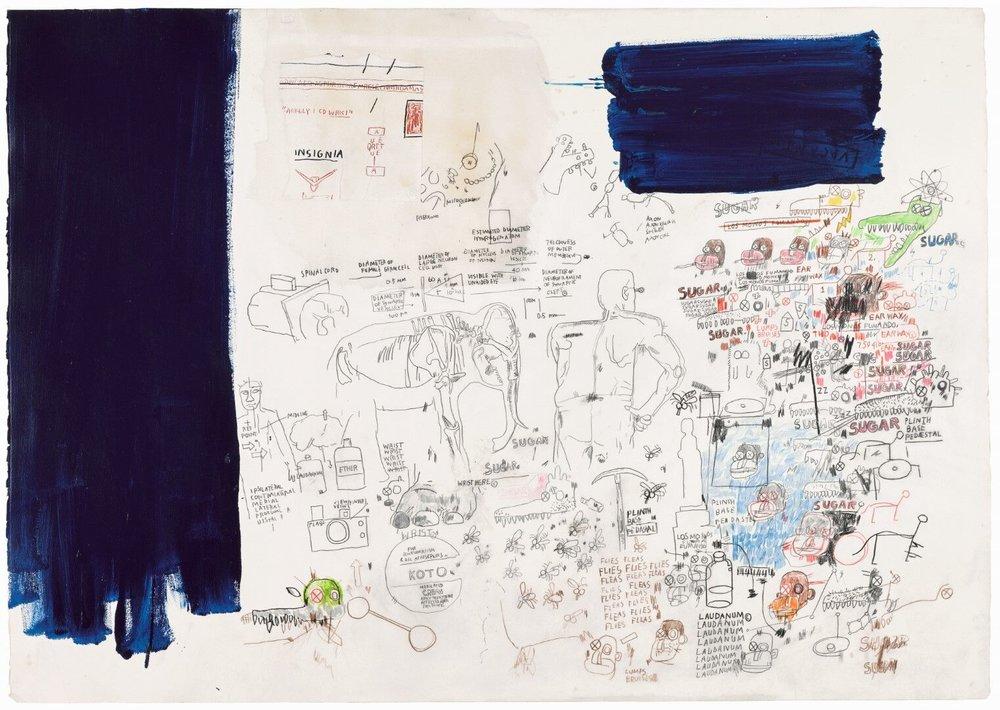 Jean-Michel Basquiat, Untitled, 1987, est. £300,000-400,000