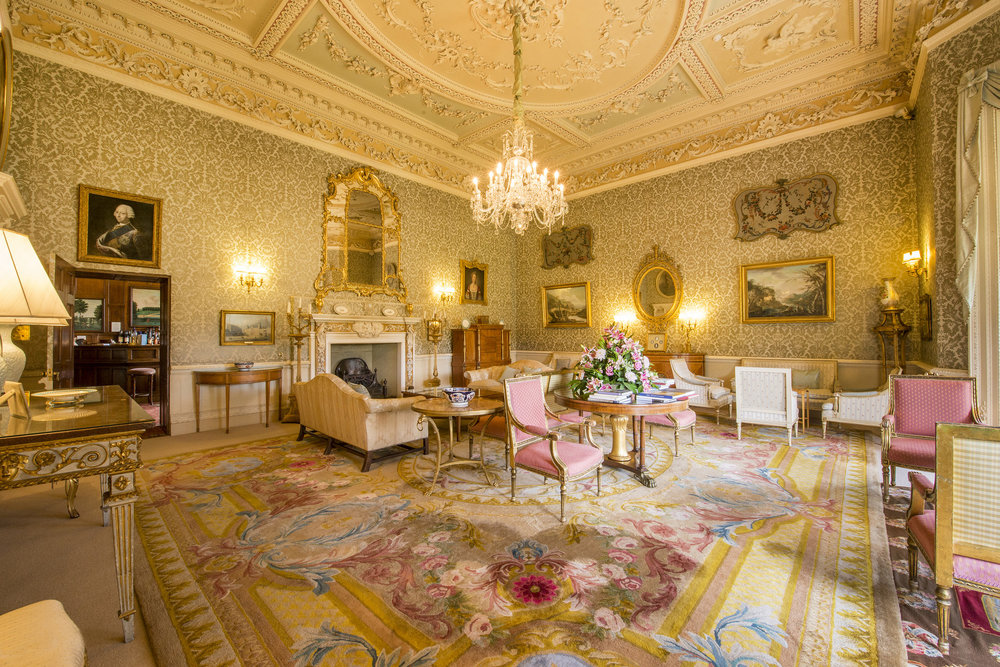 The Morning Room at Hartwell House