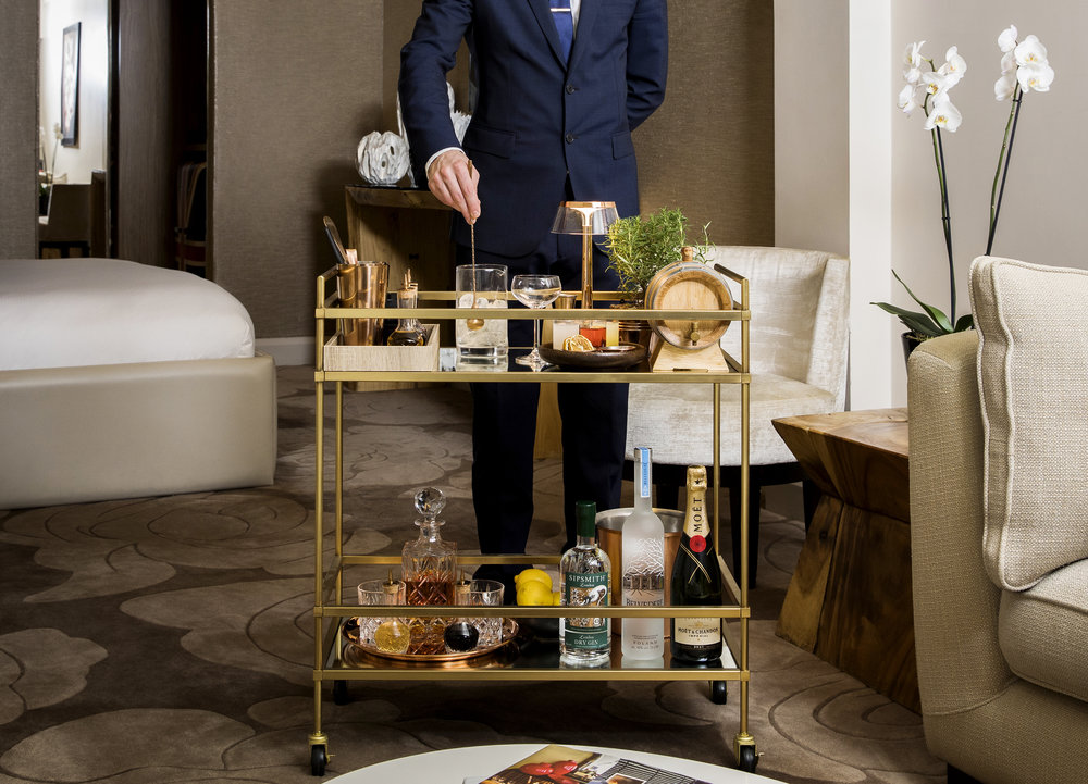 Our Cocktail Antipasti Trolley