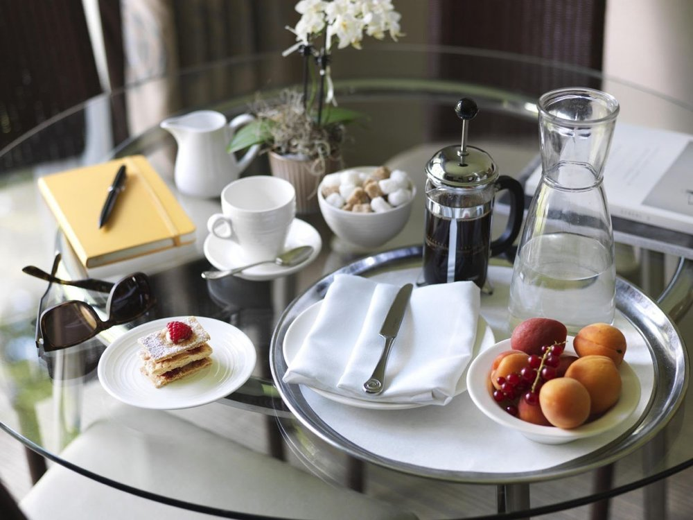 In-room dining is also available if you'd prefer a slightly quieter start to the day…in a fluffy white robe!