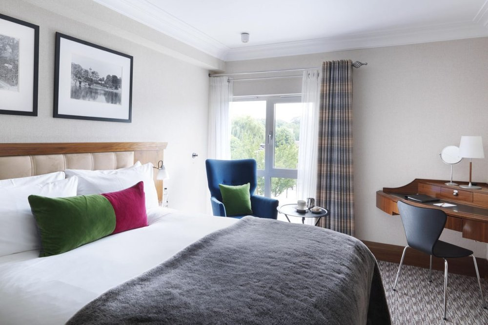 Riverside Double at The Runnymede Hotel,  rates from £175