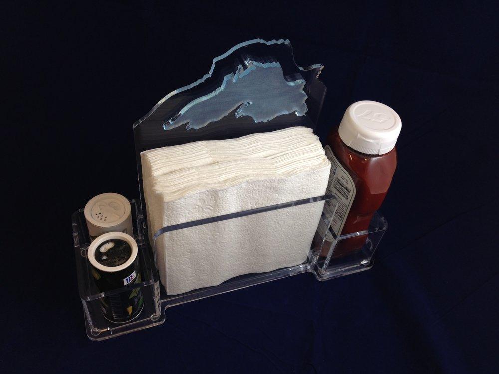 Restaurant Table Caddy / Napkin Holder