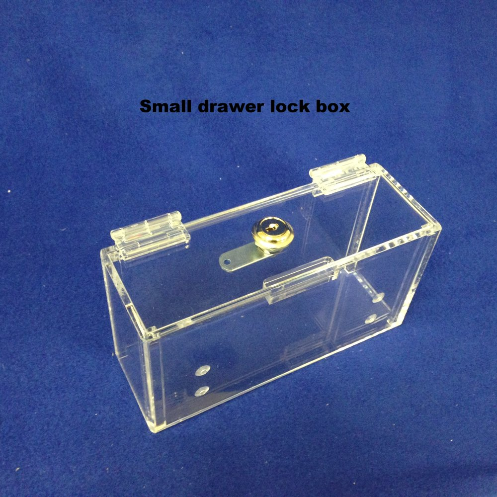 Small Drawer Lock Box