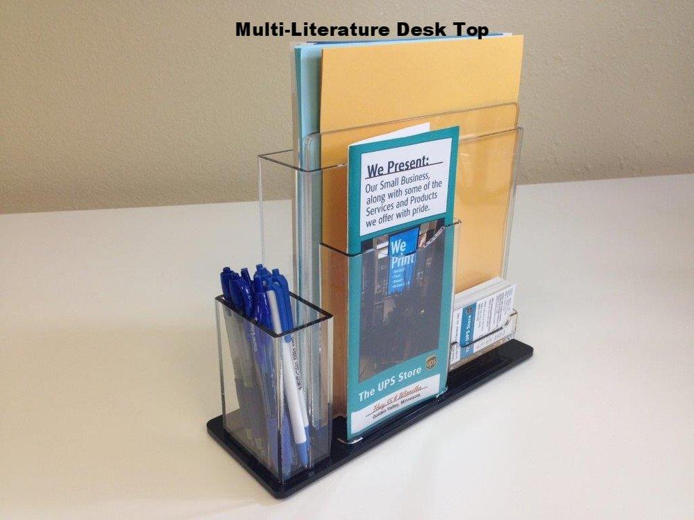 Multi-Literature Desk Top