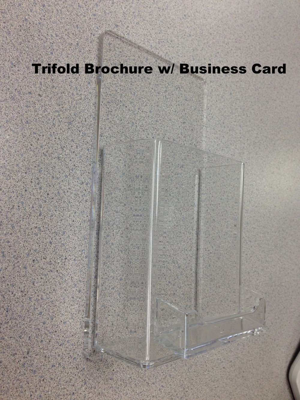 Trifold Brochure w/ Business Card