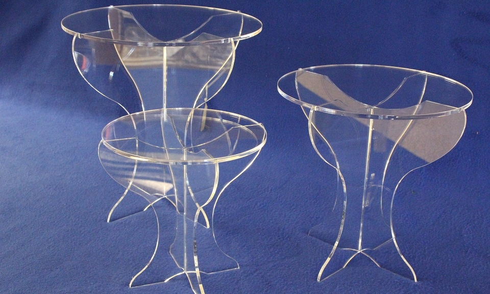 Collapsible Cake Pedestals