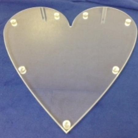 Heart Shaped Dessert Display