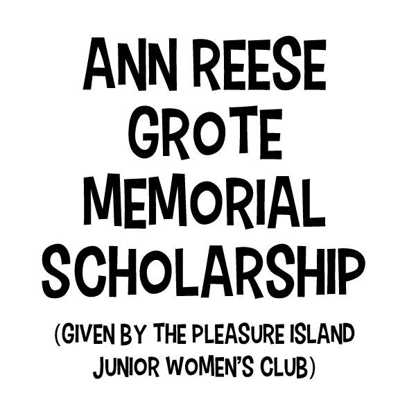 Ann Reese Grote Memorial Scholarship