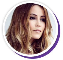 Rachel Stevens   Rachel Stevens began her career as 1/7th of the BRIT Award winning pop group, S Club 7. Now she is a fashion influencer and tv personality.