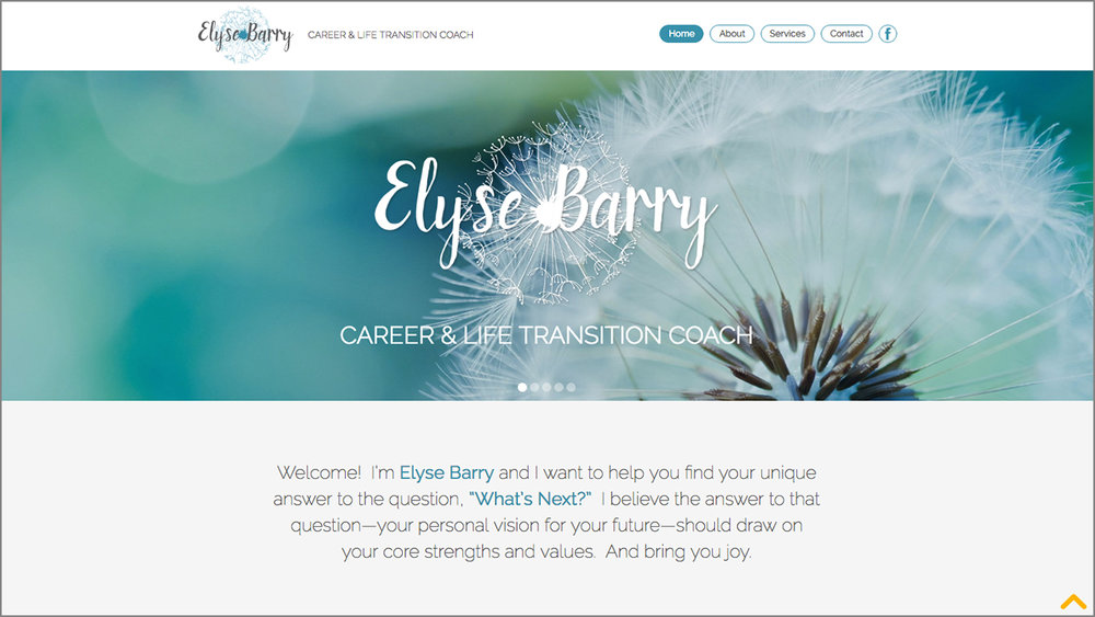 Small Business Website for Elyse Barry Coaching