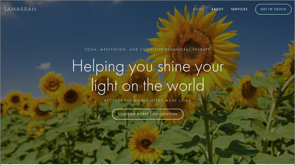 Affordable Website for Samarrah by lulu web design.jpg