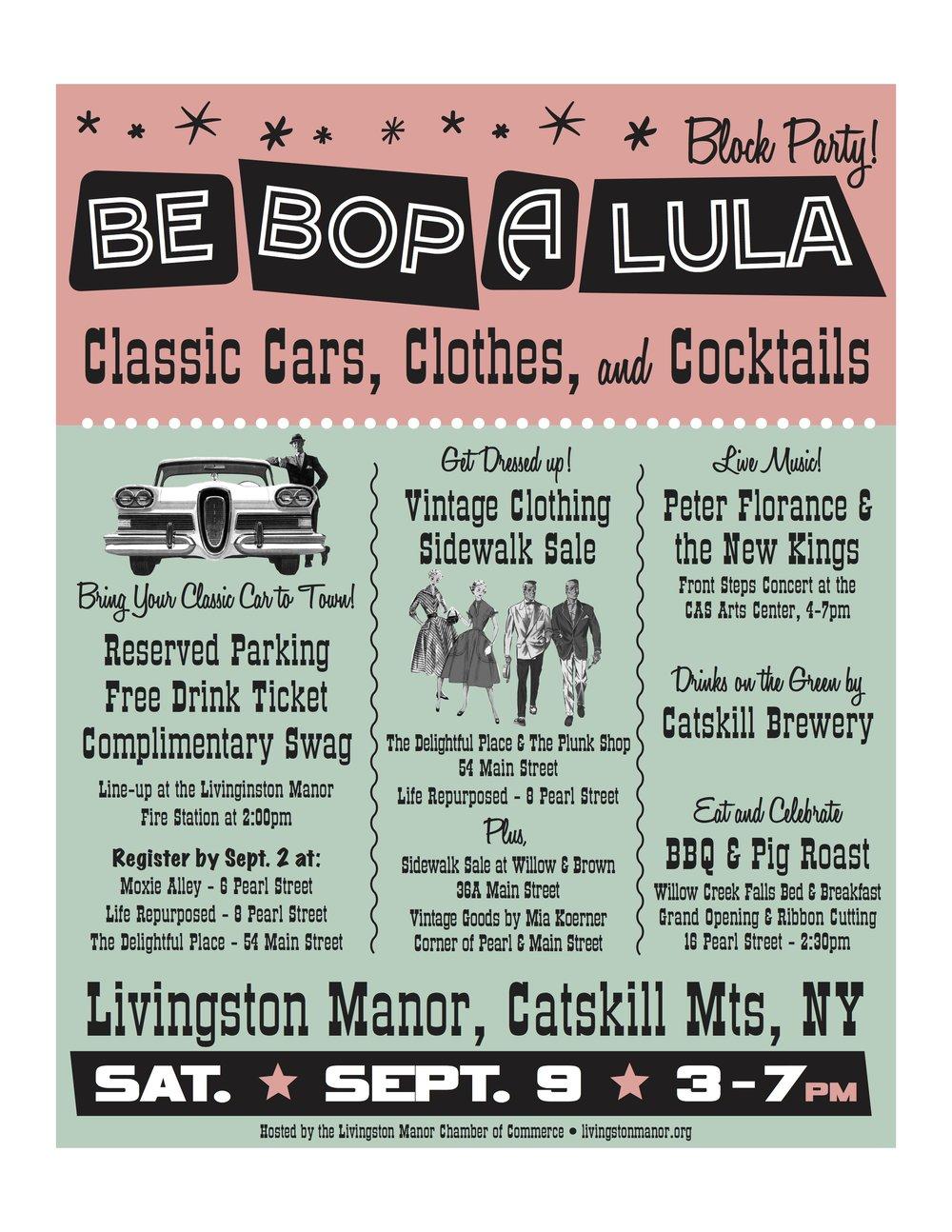 Poster: Be Bop A Lula