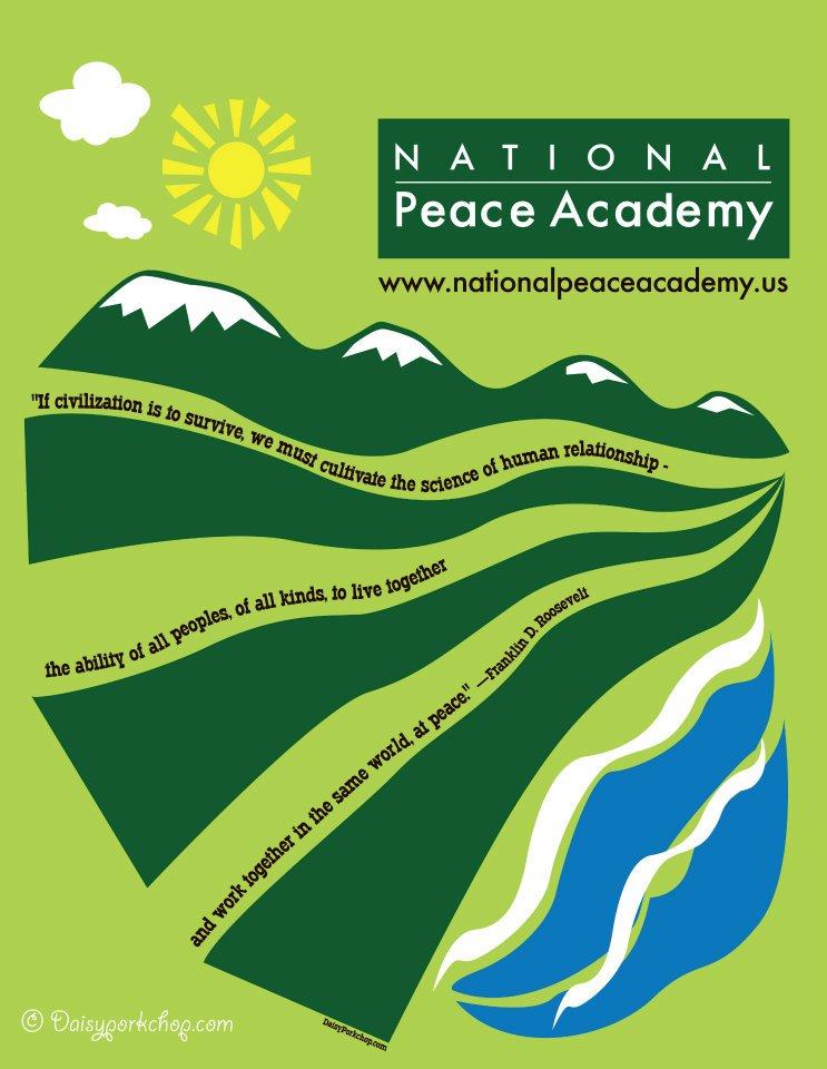 National Peace Academy T-Shirt Design