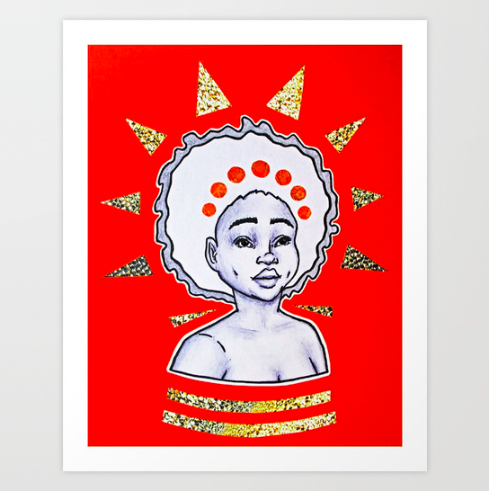 """""""Morning"""" print  (framed options available)   starting from $18.99"""
