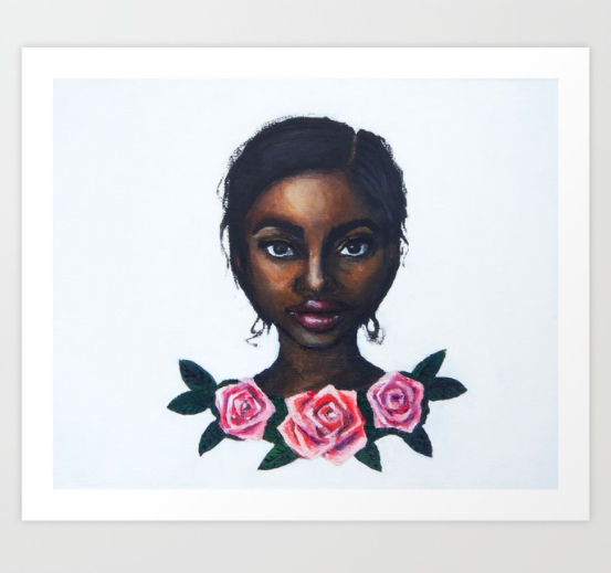 """""""Grace"""" print  (framed options available)   starting from $18.99"""