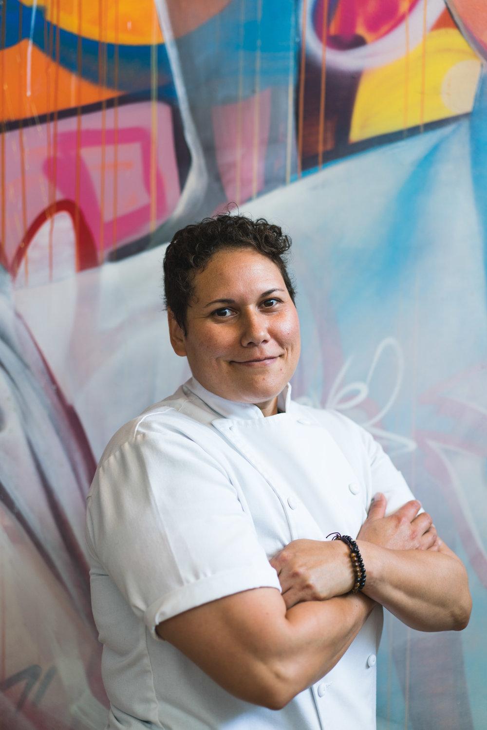 Chef Teresa Montaño