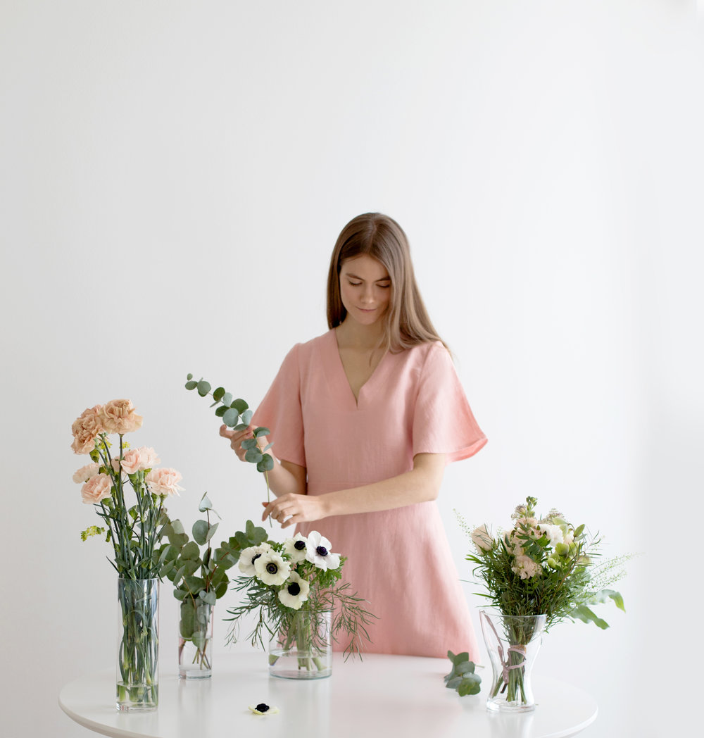 iluut pink dress sustainable fashion