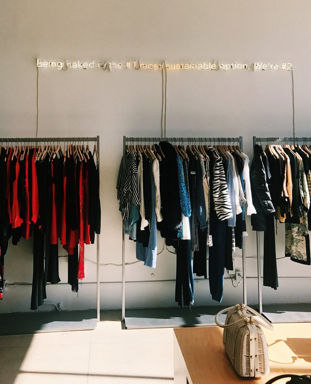Reformation vintage shop in LA
