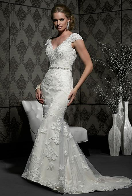 40%off sample gown- Now $930.00  - Was 1550.00Size- 12IvoryDesigner- ImpressionStyle# 110123