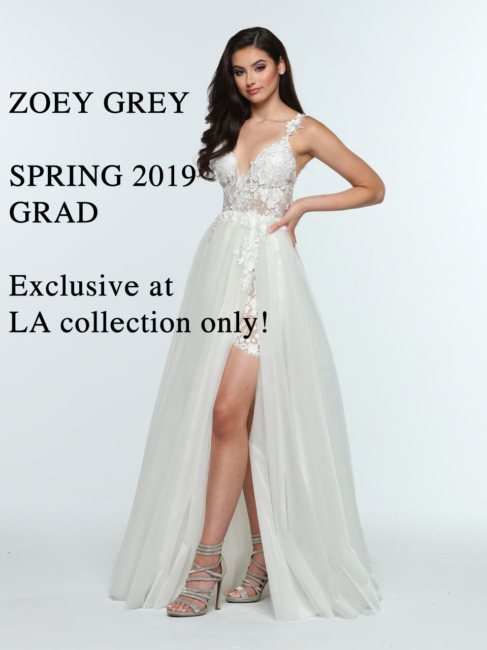 ZOEY GREY SPRING 2019 GRAD TRUNK SHOW - Hundreds of these dresses are EXCLUSIVE to LA Collection and we are the only store in Manitoba that can carry this exclusive line.Starting November 17 - November 25SCRATCH & SAVE Event and ENTER & WIN Prizes!Many promotions in store you don't want to miss!