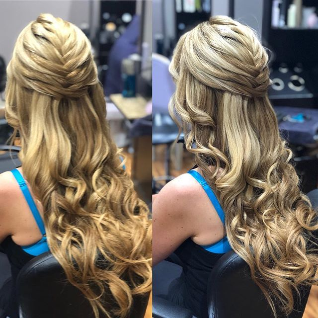 Attending a wedding this weekend and you just cannot handle doing your own hair in his heat? Leave it to us to give you the best hair at the wedding! Style by Jillian