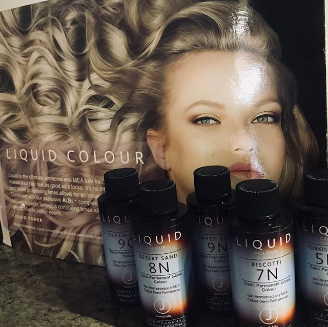 Have you experienced our latest color obsession; J Beverly Hills liquid color?! We are loving this ammonia free and MEA free hair color! It can be used as Semi permanent color, Demi permanent color, or a toner after high lights and balayage! This product is filled with vitamins and botanicals leaving your hair feeling better than ever! Consider adding liquid color to your next color service at Salon Beni!