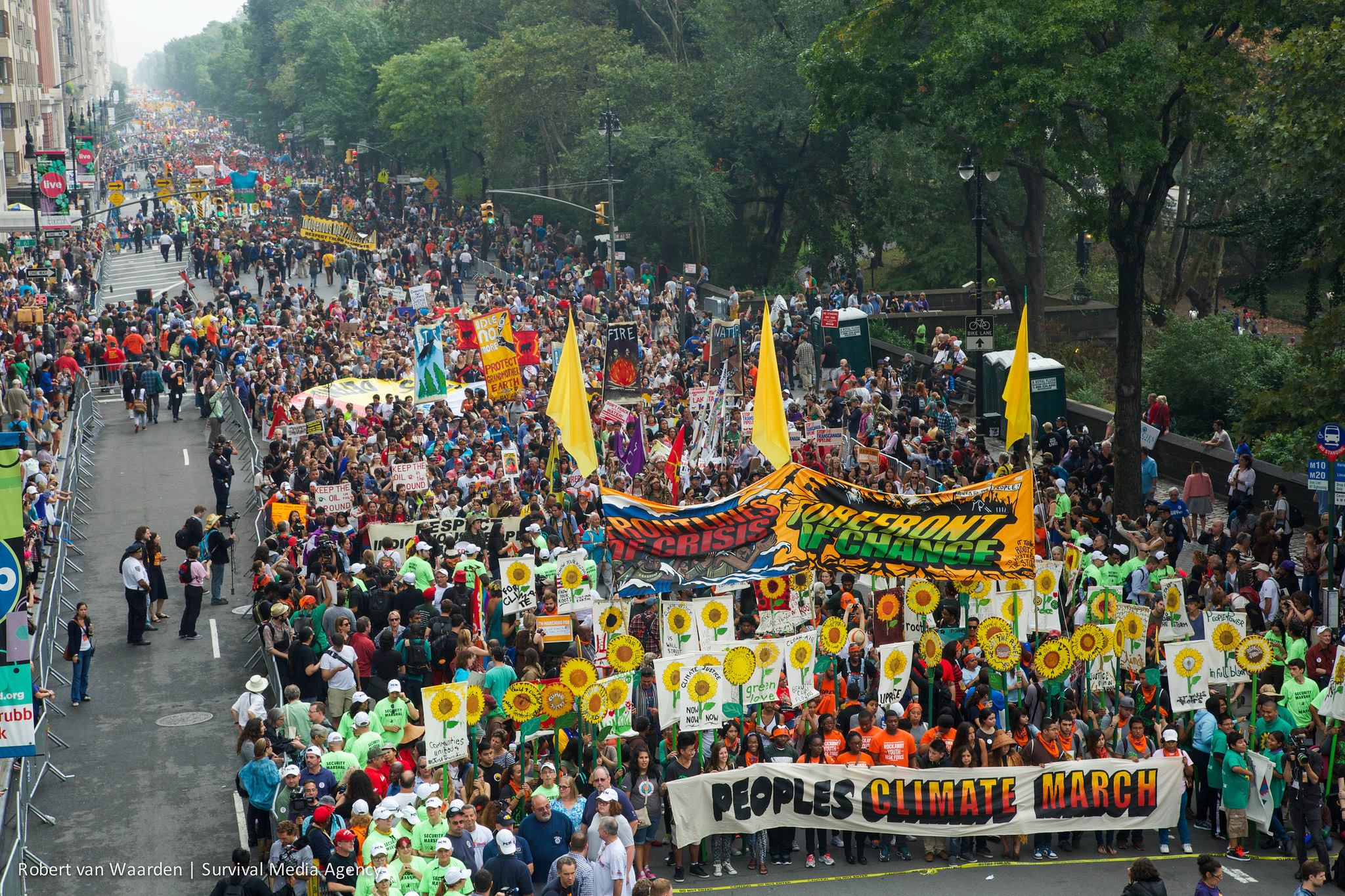Photo: People's Climate March Facebook