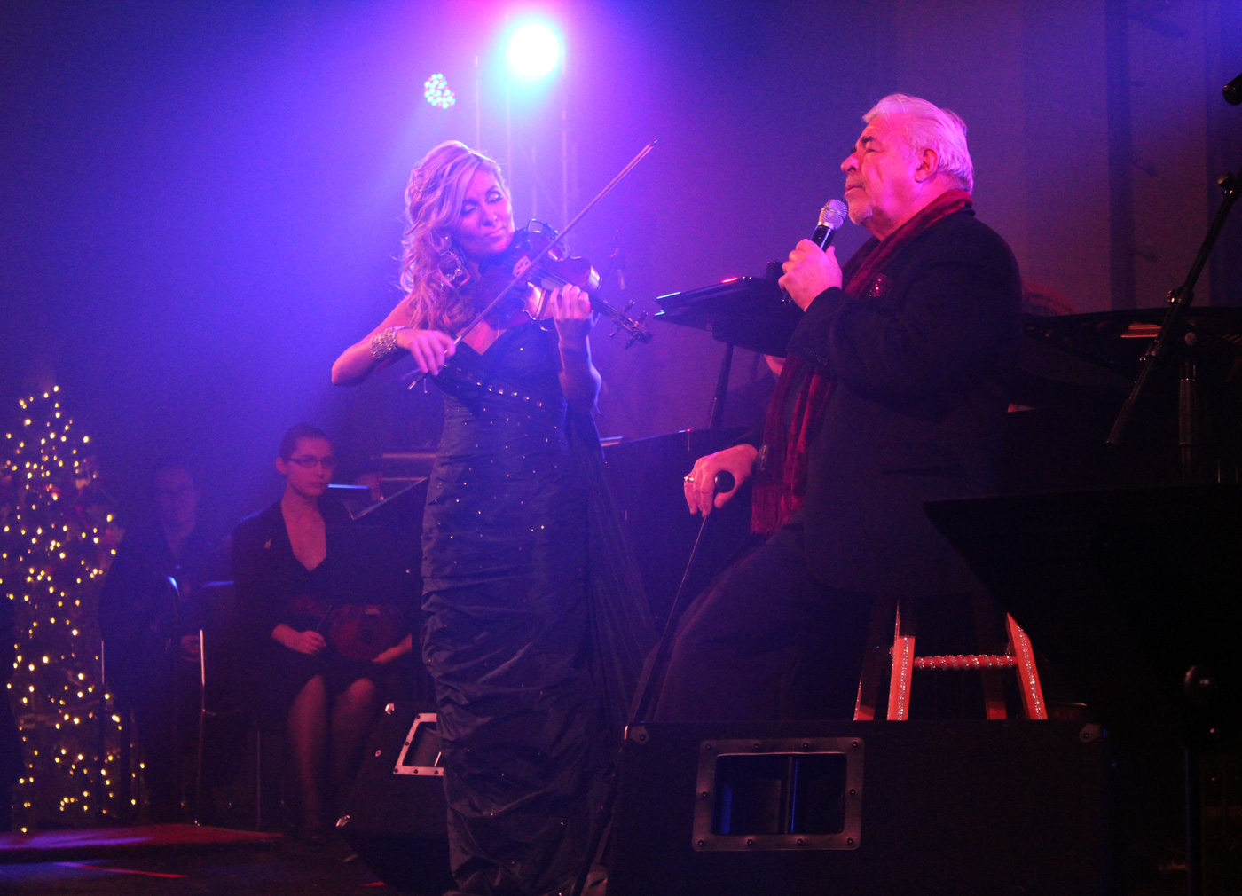 Jim Byrnes with Maria Zalba