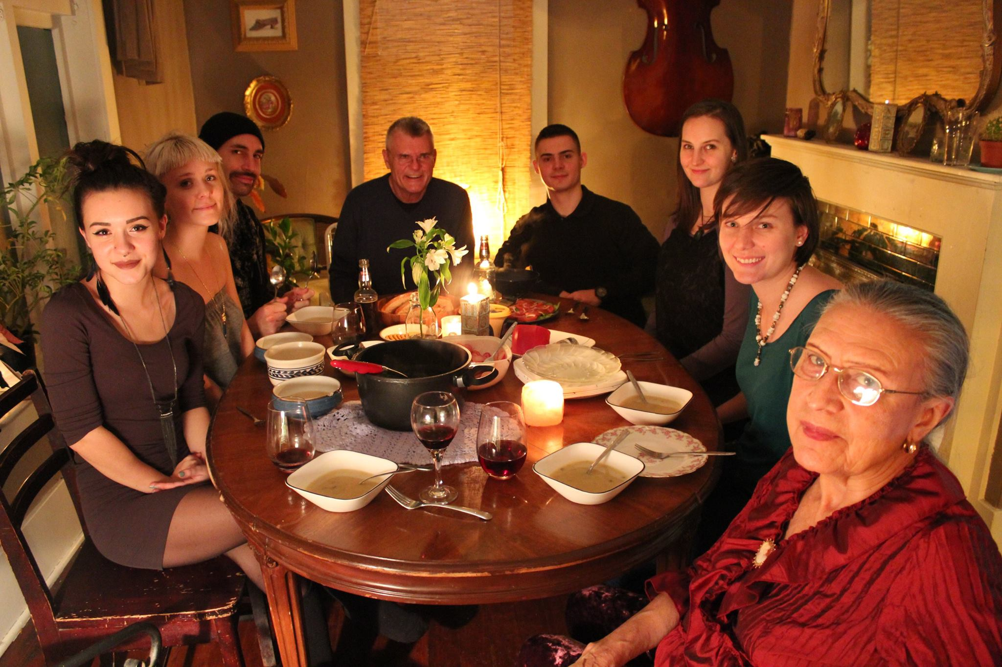 Photo: Christmas 2015 at Tohni's house... (Jackie, Tohni, Patrick, Brian, Nathen, Lorraine, Loryn, Mom)