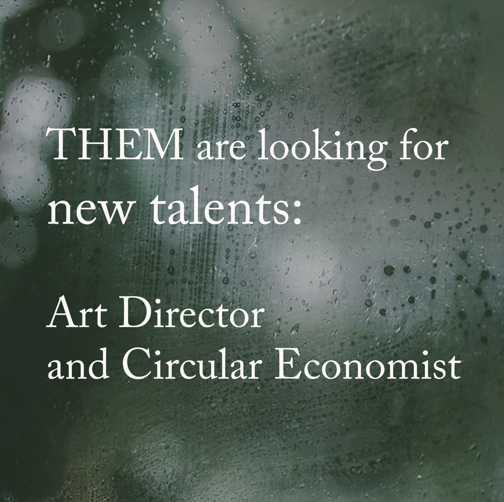 Oct 3, 2018.  New talents   Are you skilled in sustainability and circular economy plus one of the professions above? Drop us a mail: info@them-partner.com (Please, spread the word!)