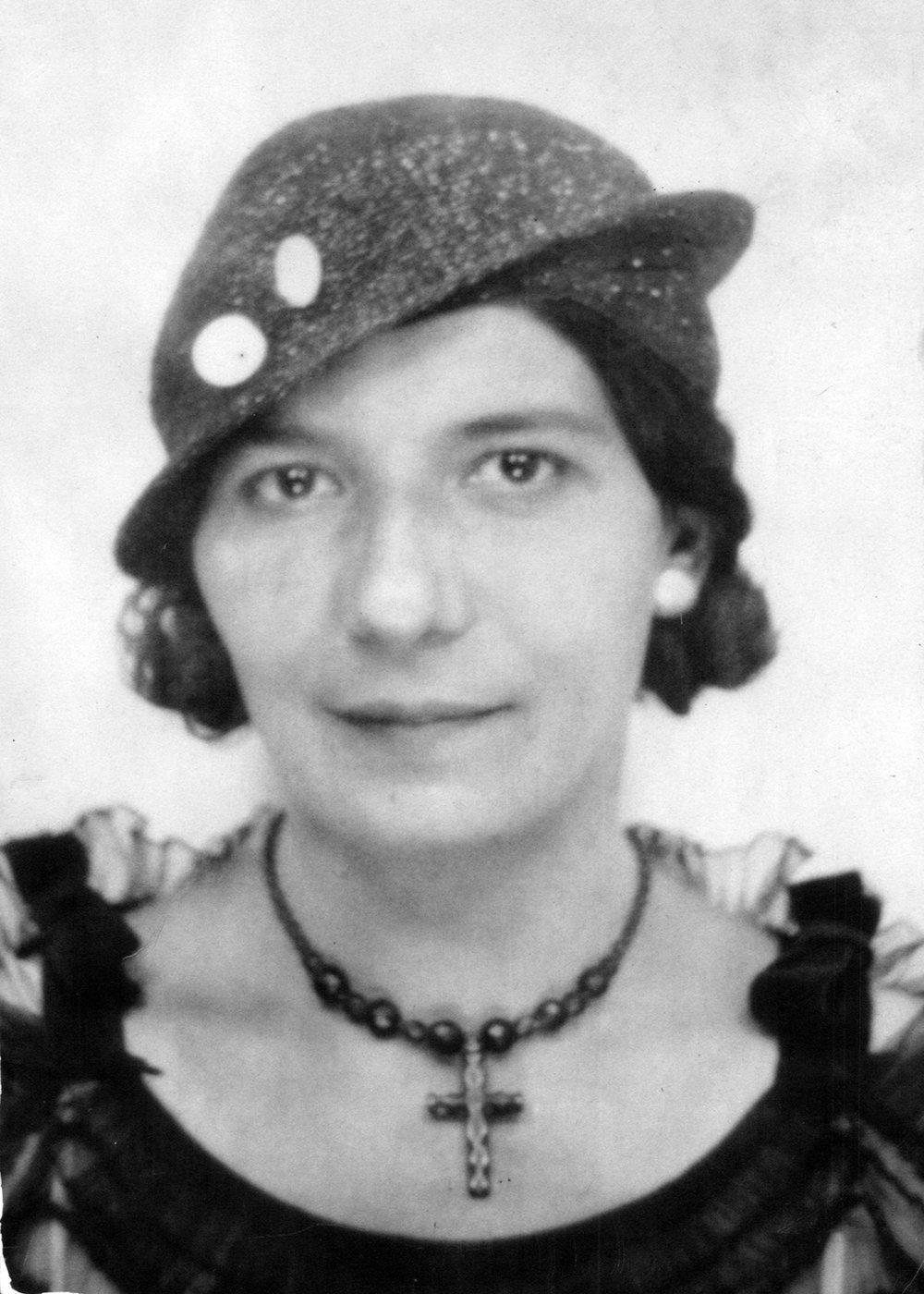 Granma Mary, circa 1920s    (All photo restorations by John Ellis Kordes, Garden City, NY)