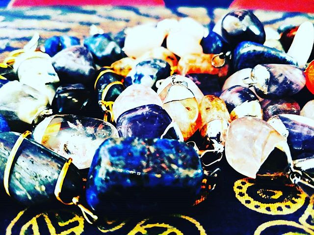 We are overstocked on Reiki-infused crystal pendants! 😯  Buy one necklace and get your choice of crystal pendants for only $5 each!  Buy four pendants and get one FREE!  Citrine #amethyst Moonstone Kyanite Flourite #clearquartz #smokyquartz #rosequartz Sodalite #lapislazuli #tigerseye Sunstone Carnelian Unakite Laboradorite Picture Jasper ...and so many more!  Come give them a new home! 💎🏠 #crystalsforsale #crystalgems #crystals #gems #gemstones #reiki #reikihealing #crystalhealing #cultureshop #cultureshopping #pittsburghpa #pittsburgh #coraopolispa #coraopolis #bellevuepa #ilovepgh #lovepgh #yinz #yinzer #yinzers #yinztagram #alleghenycounty #beavercounty