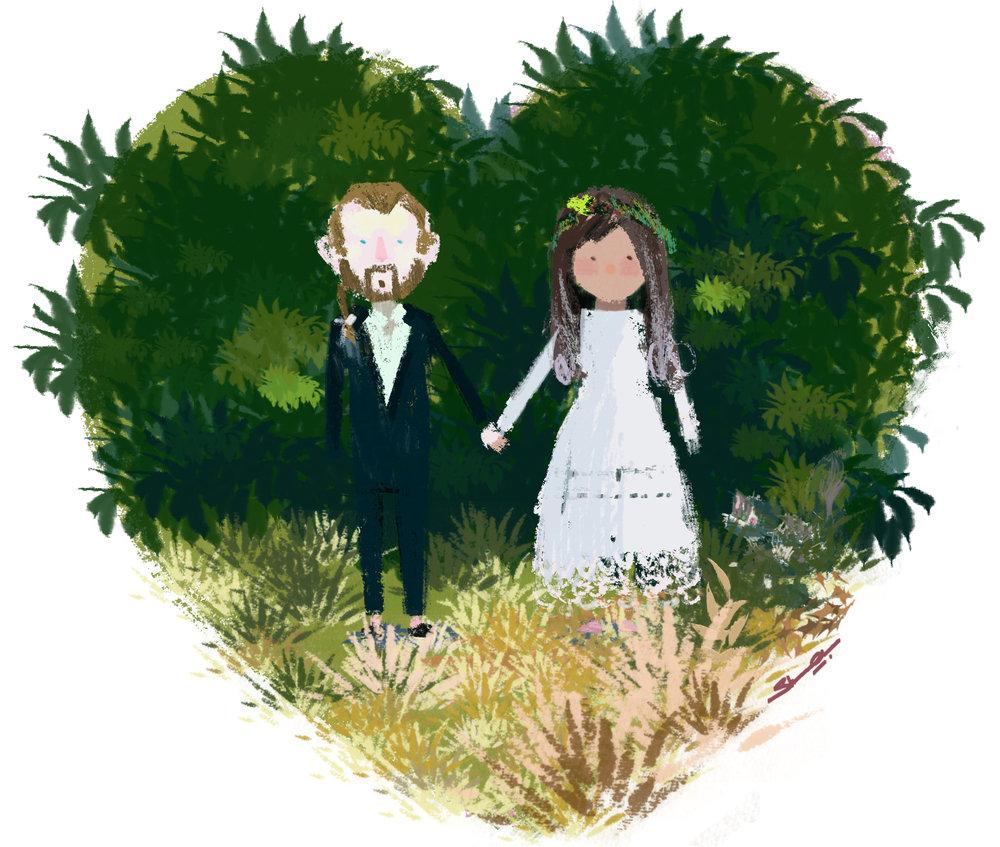 We eloped