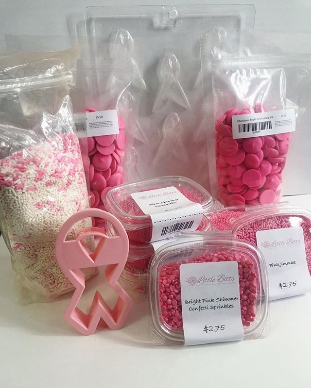 We're already halfway through Breast Cancer Awareness Month. If you're hoping to spread more awareness, why not make a sweet treat to show your support for the cause! We've got everything you need, so stop by Little Bitts and help spread awareness! . . . . #breastcancerawarenessmonth #spreadawareness  #support #cakedecorating #cookiedecorating #chocolatemaking #maryland #virgina #washingtondc #dmv #littlebittsshop