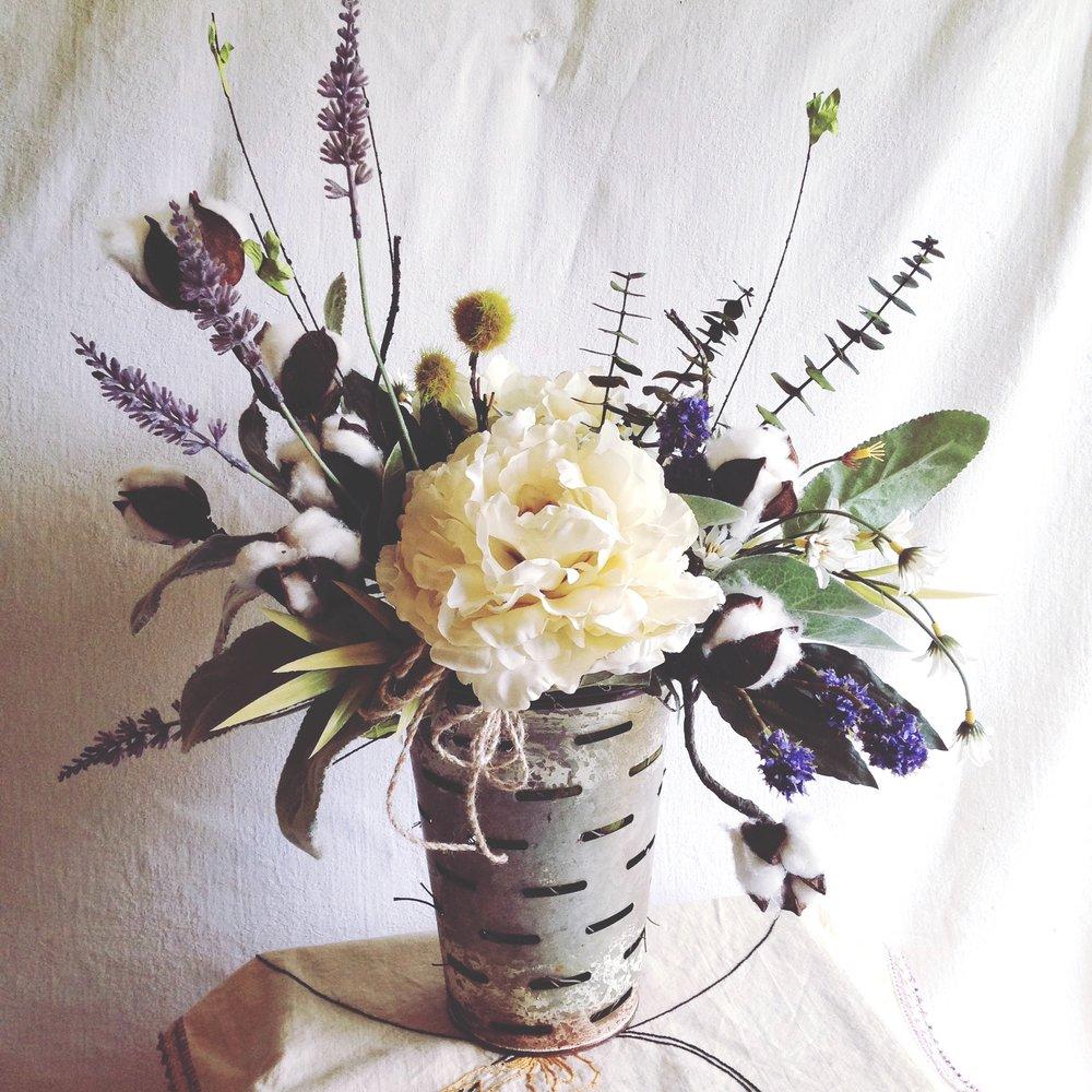 Silk lavender blue floral artistry mightylinksfo