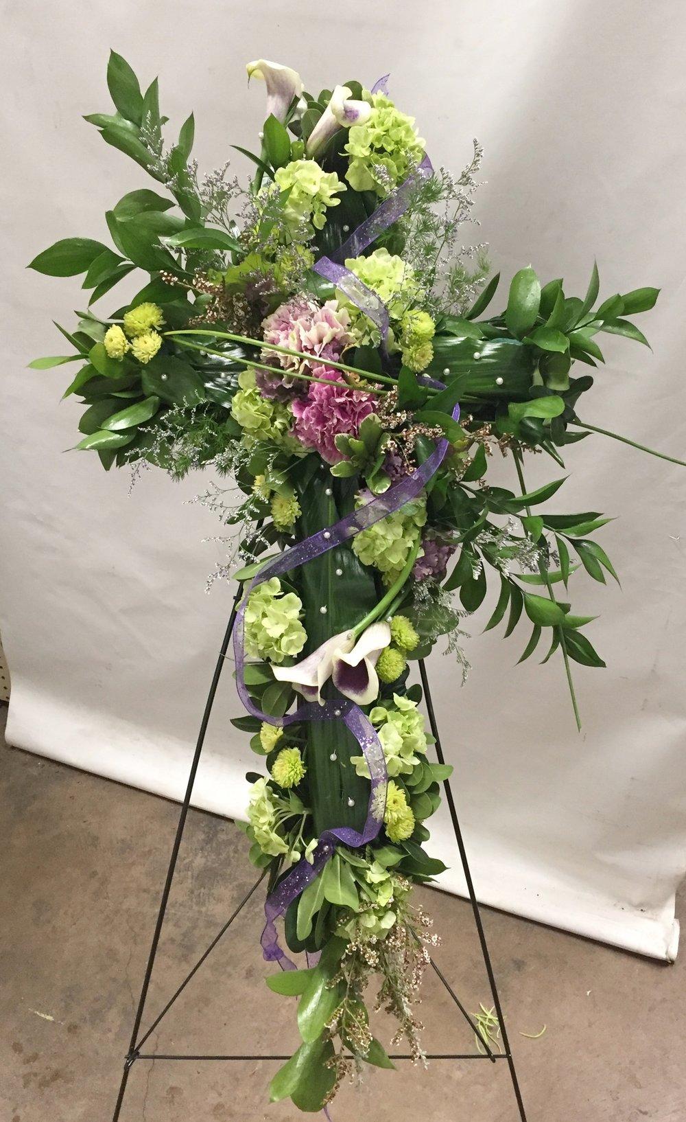 Sympathy Lavender Blue Floral Artistry
