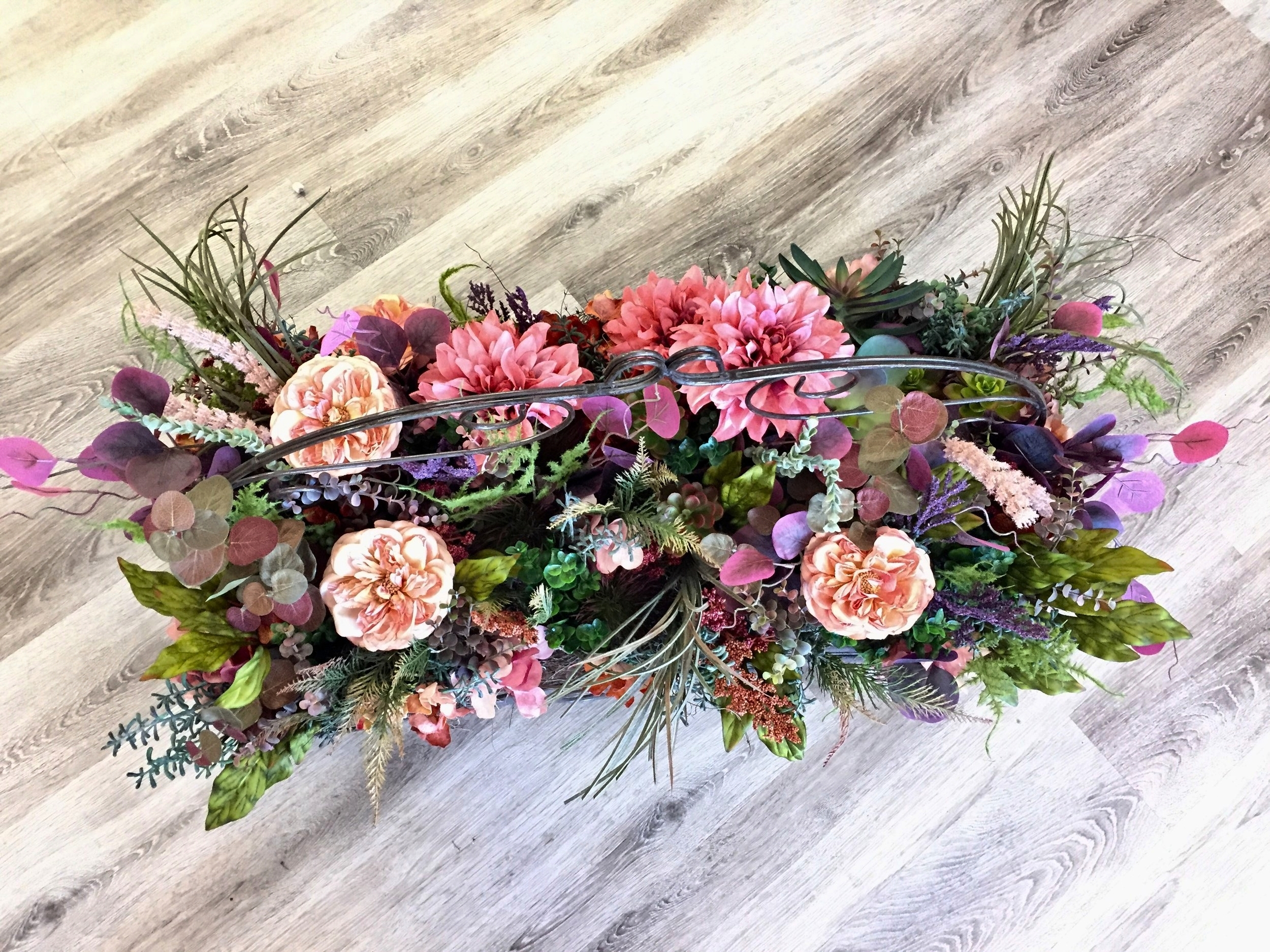 Silk Lavender Blue Floral Artistry Wedding Florist Des Moines Iowa