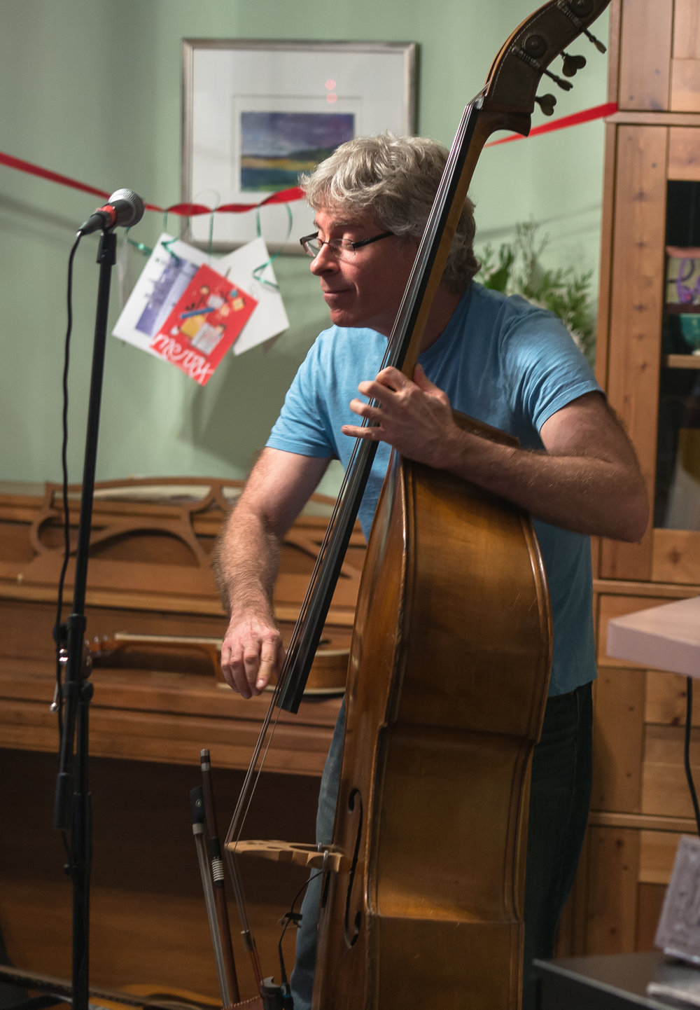 Upright bass bliss