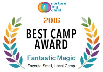 Nurture My Child 2016 Best Camp Award