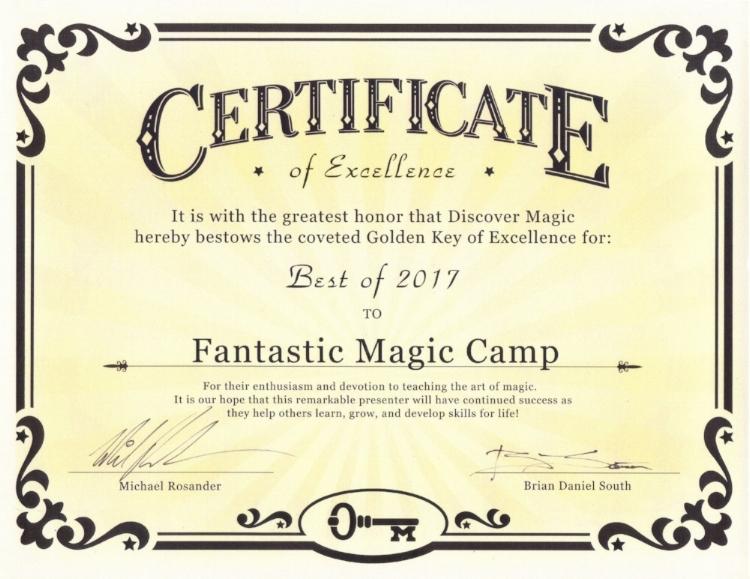 Discover Magic Best Program of 2017