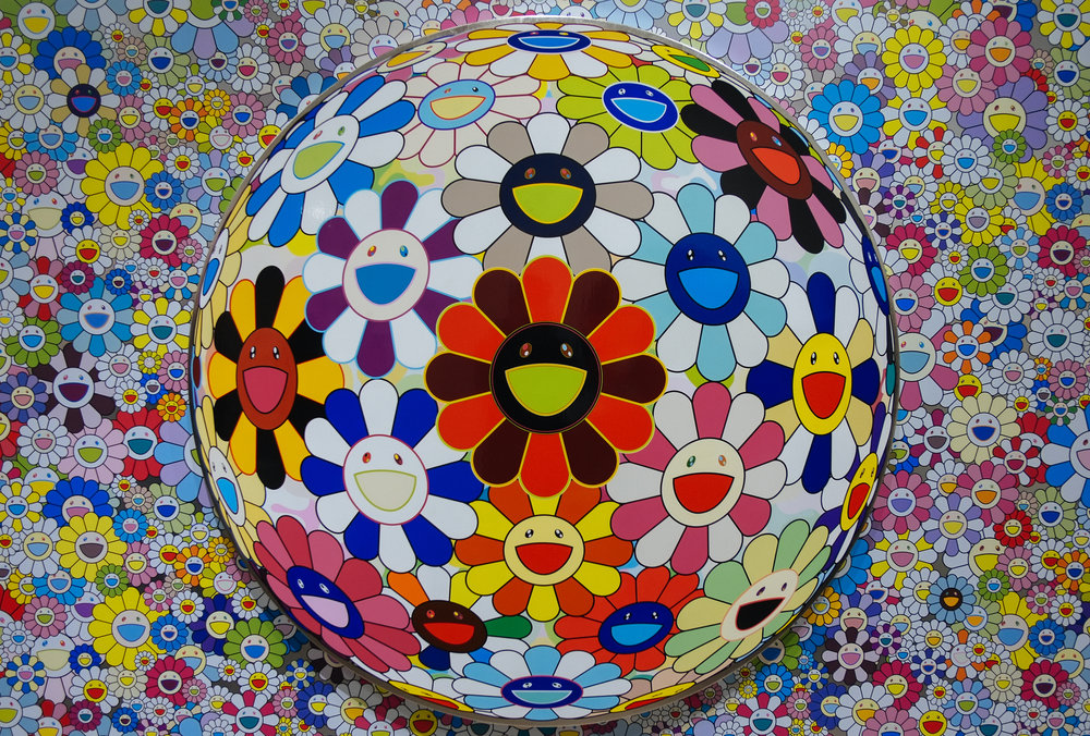 Takashi Murakami: The Octopus Eats Its Own Leg - 2018-02-25: Took a photo at the Takashi Murakami: The Octopus Eats Its Own Leg exhibit at the Vancouver Art Gallery.