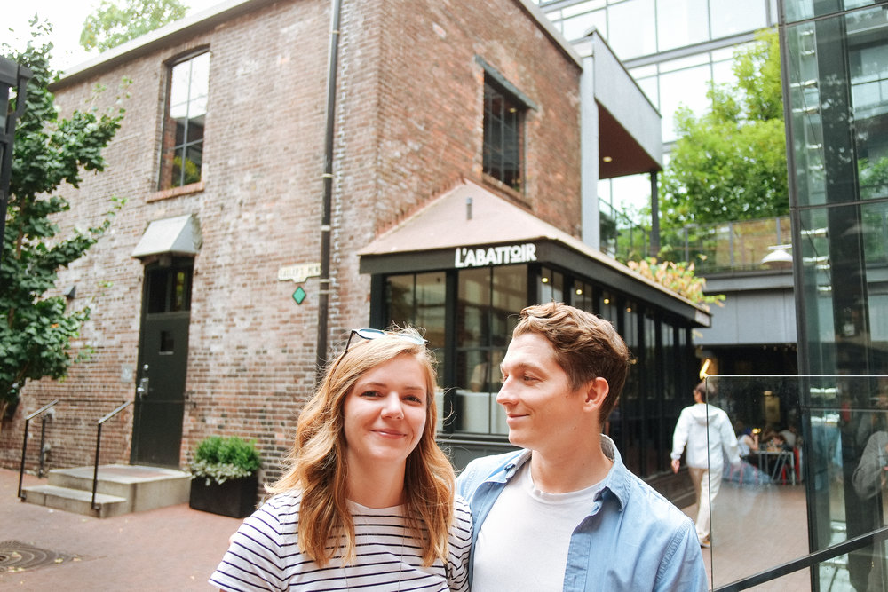 The Alley Between Blood Alley and Water - 2018-08-18: A nice stroll with the best couple that I know - my brother Mackenzie and his beautiful girlfriend, Lauren. Thank you both for the amazing visit.
