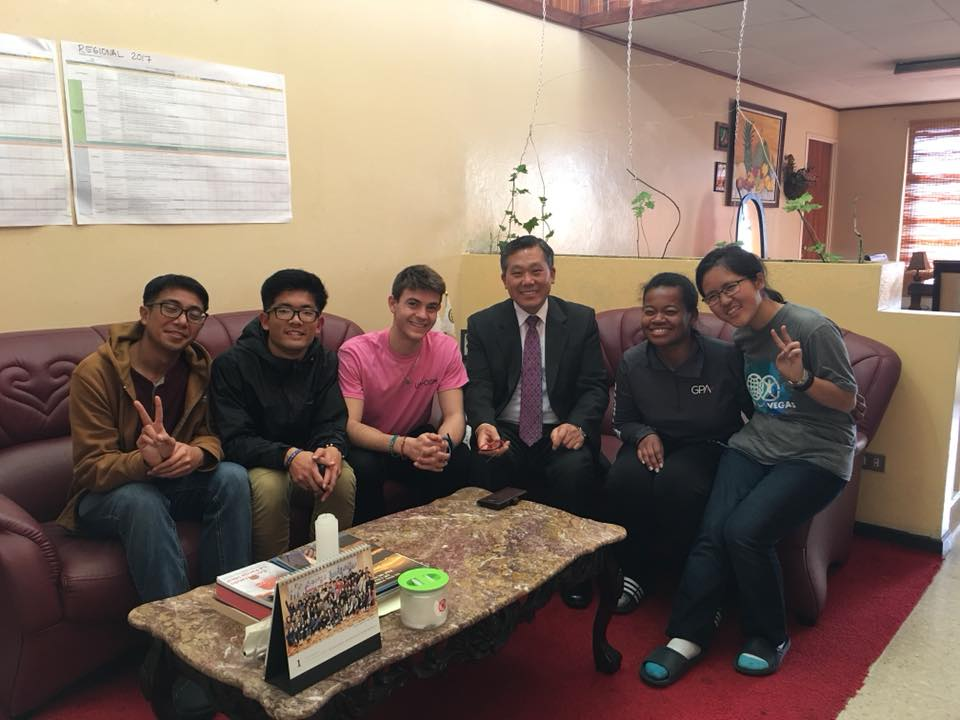 We met Rev. Sang Seuk Kim, the Latin America Regional President for FFWPU!