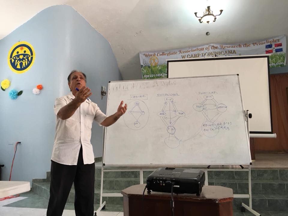 Rev. Pascuale gave the lectures on introduction and Principles of Creation.
