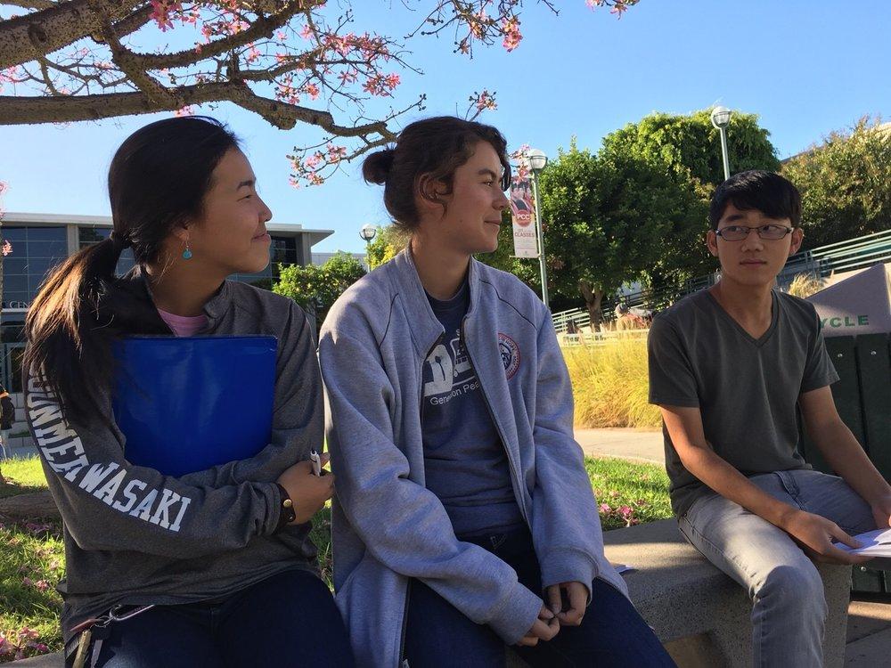 (From left to right) Soonmee Iwasaki, Miyuki Granstrom, Yutaka Ono.