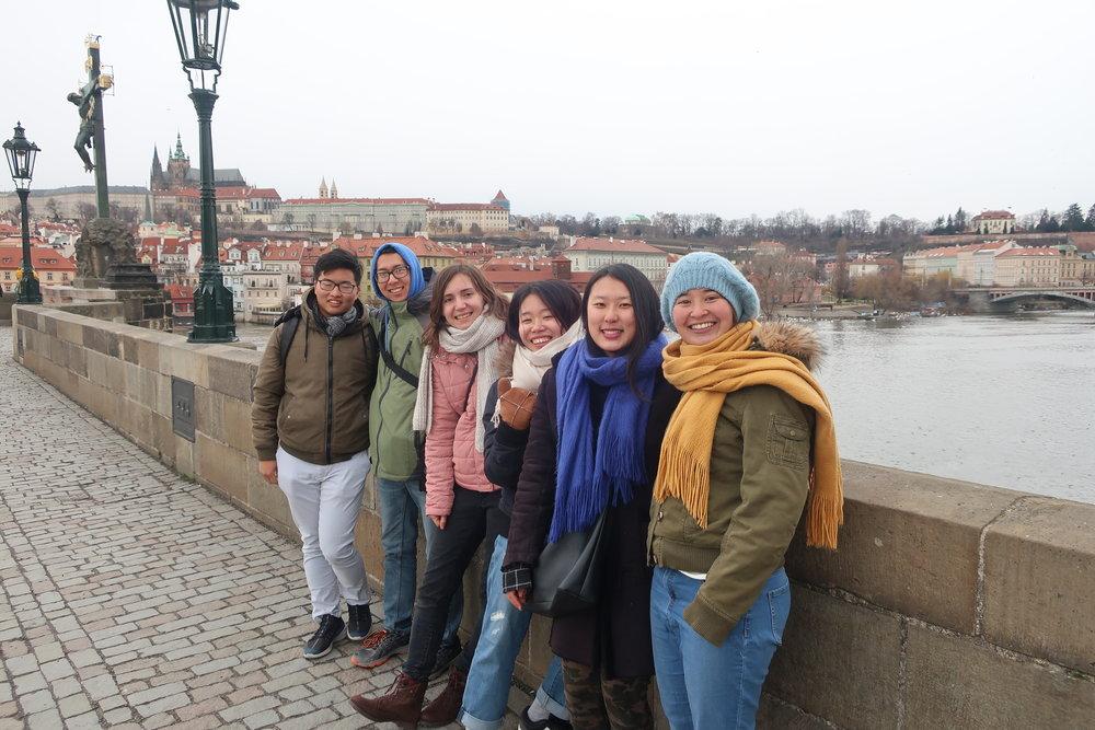 Touring Prague!