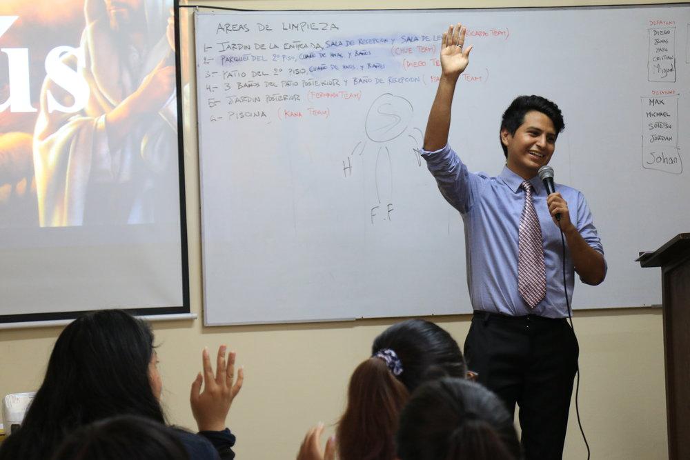 Lecturer - Jair