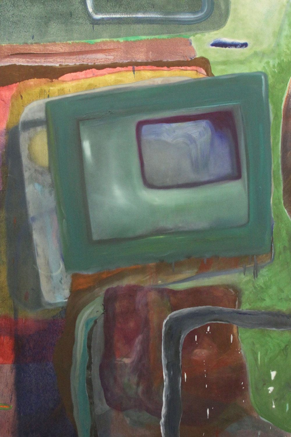 """untitled  oil on canvas  70.5""""x48"""""""