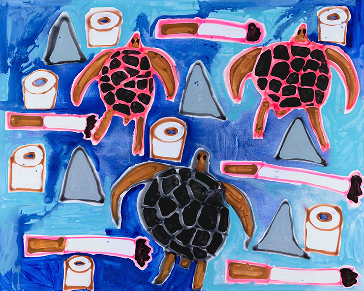 Sea Turtles, Cigarettes, Toilet Paper, and Dorsal Fins , 2015